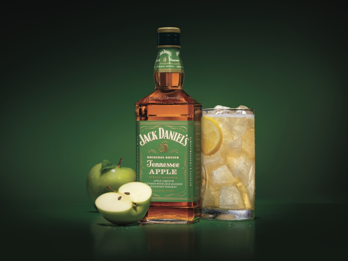 Jack Daniel's New Apple Whiskey Is Officially Here (With