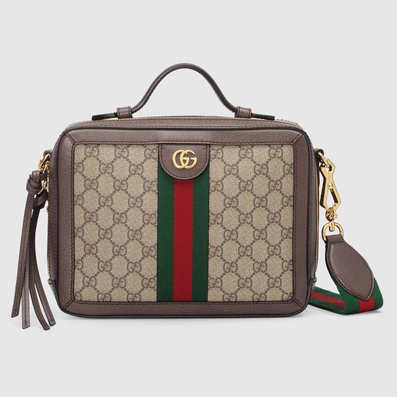 1d29ed79917b6 Compra ahora Bolso de Hombro Ophidia Pequeño con GG de Gucci. El mundo de  Ophidia evoluciona con la introducción de un bolso de hombro pequeño con  asa ...