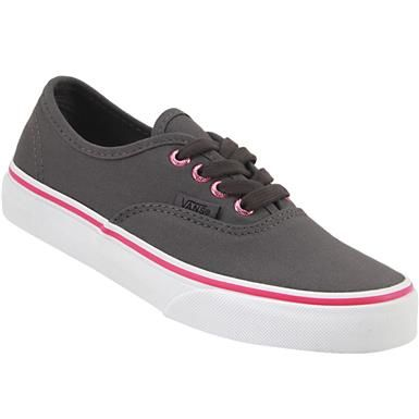 f6468884bf7 Vans Authentic Kids Skate - Girls Perf Hot Pink