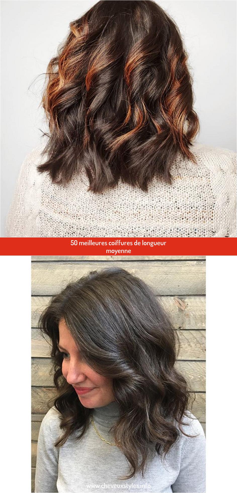 Pin On Cheveux Moyenne