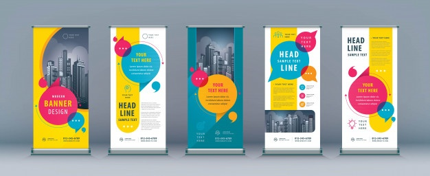 Banner Cdr Templates Free Download 4 Templates Example Templates Example Standee Design Banner Template Design Banner Template