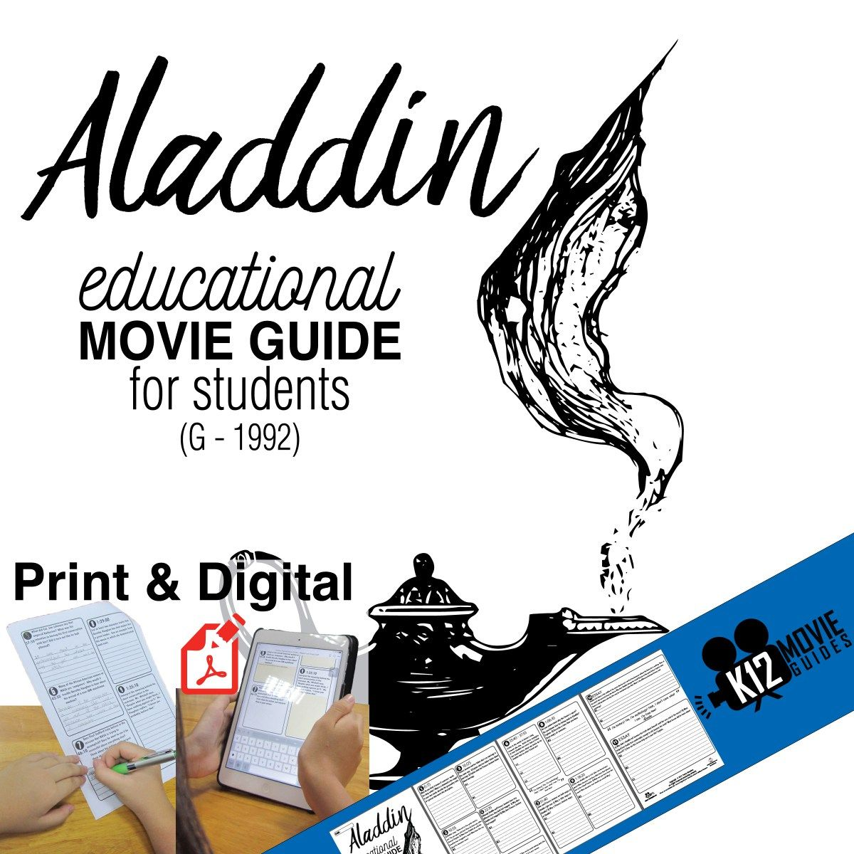 Aladdin Movie Guide Questions Worksheet G