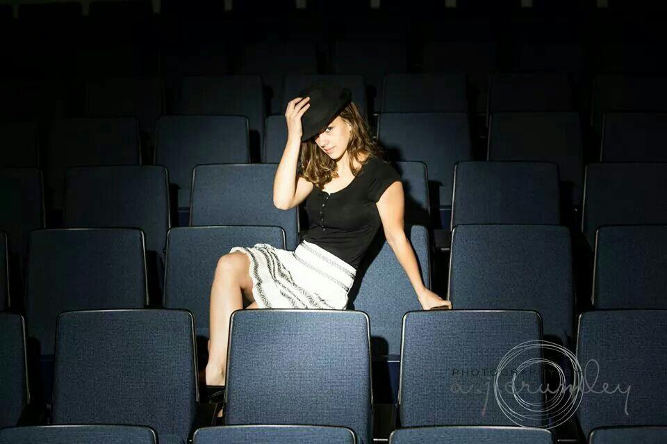 Senior pictures in auditorium!