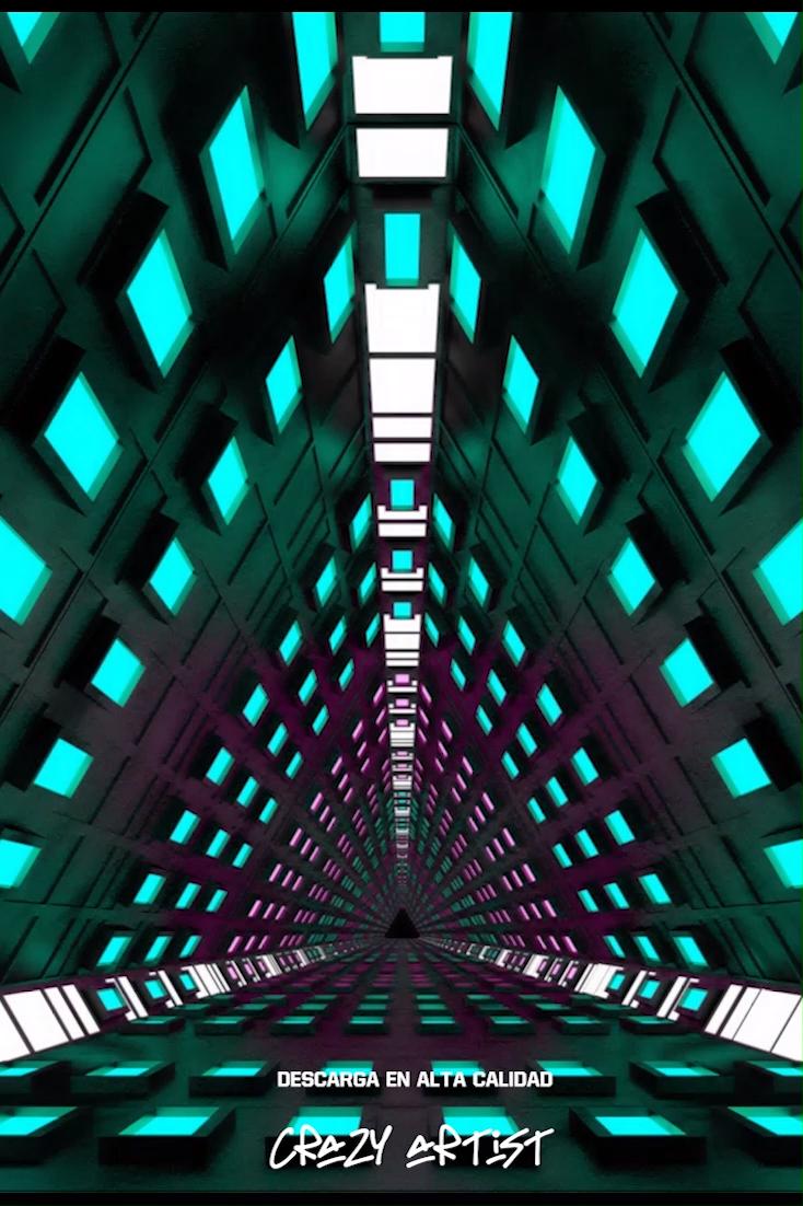 🚀VJ Loop Infinite Spaceship🚀
