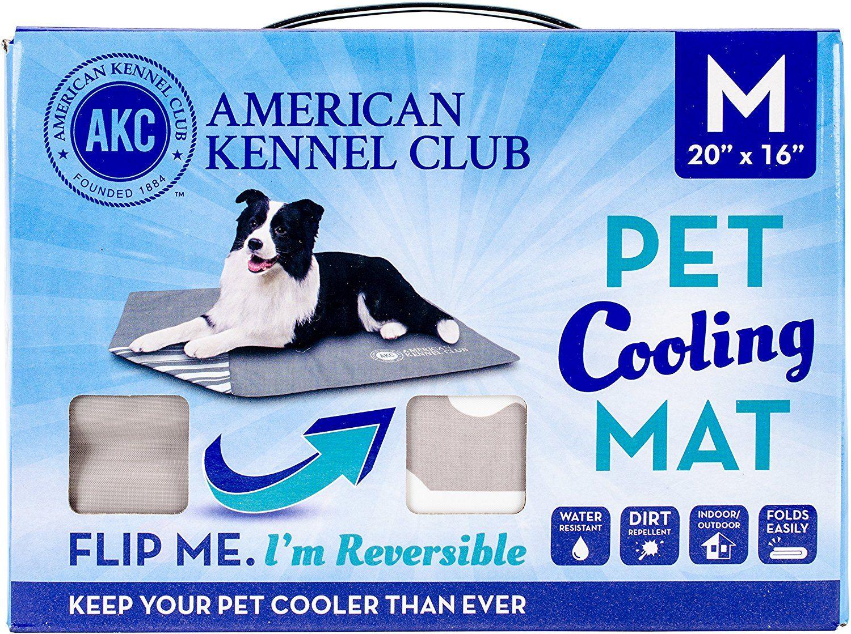 American Kennel Club Akc614taupe Club Reversible Bone Medium Self