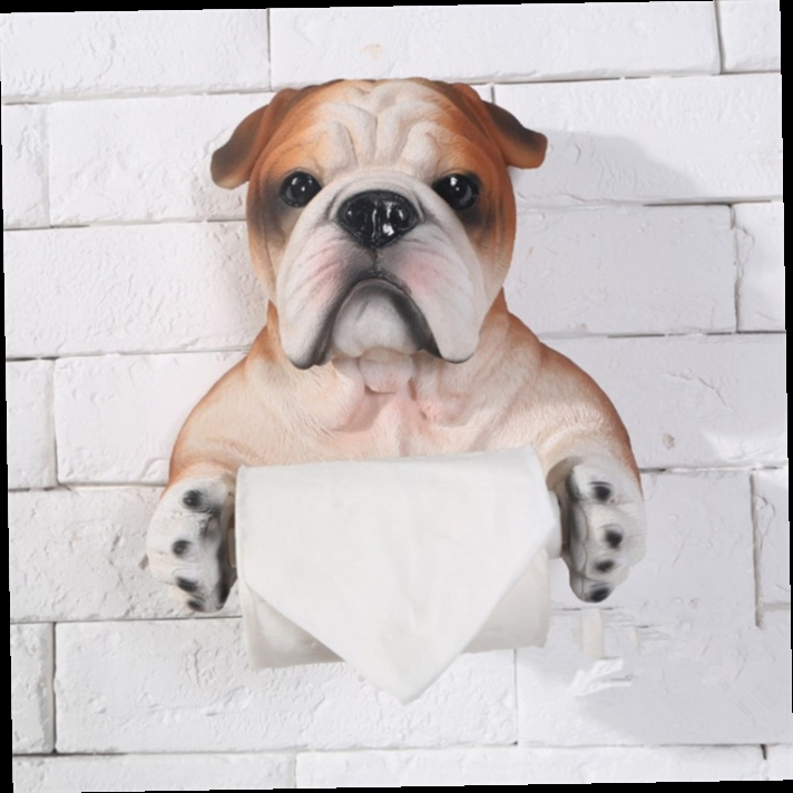 49.50$  Watch here - http://alipiq.worldwells.pw/go.php?t=32701610138 - Continental Creative tissue boxes bathroom toilet paper holder home tissues roll holder paper hanging dog towel rack 20cmX21cm 49.50$