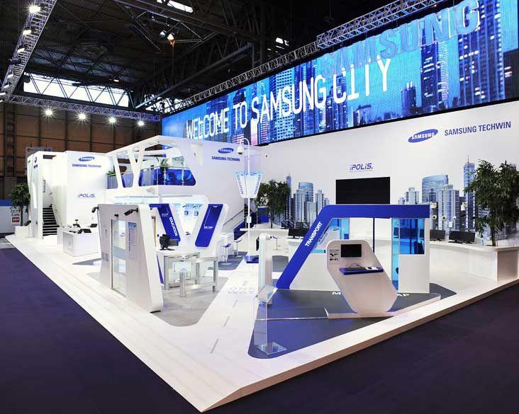 Exhibition Stand Technology : Samsung ifsec show exhibition pinterest