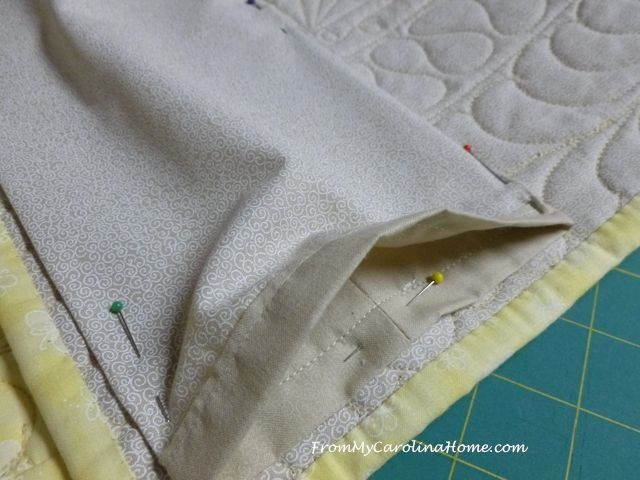 How To Add A Hanging Sleeve For Showing Quilts Quilted Sleeves