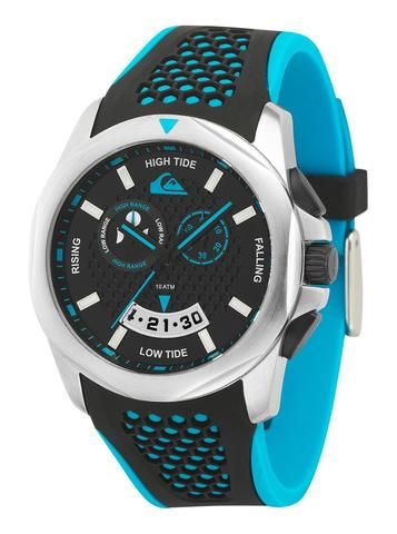 6a1659fa03a84 Quiksilver Analog The Guide Men´s Watch - Black Blue - Surf  in ...