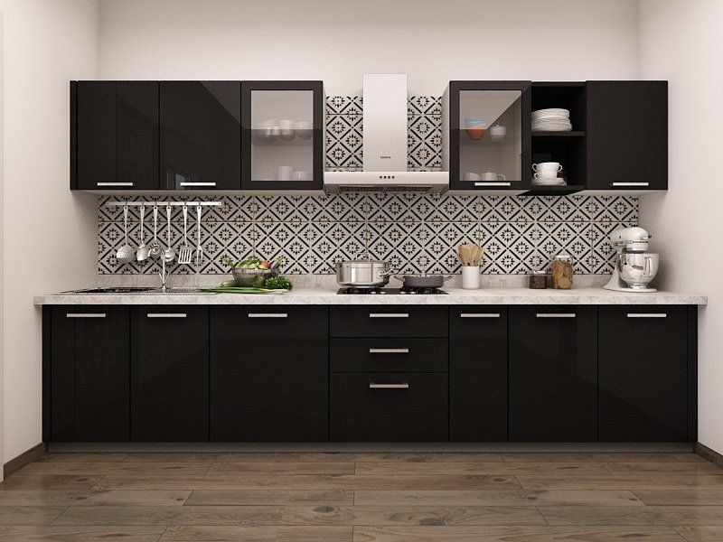 Paradiso Straight Modular Kitchen Designs Modular Kitchen Cabinets Kitchen Cabinet Design