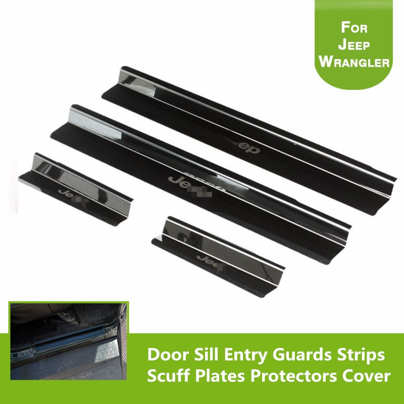 Check Price Front And Rear Entry Guards Door Entry Sill Plate