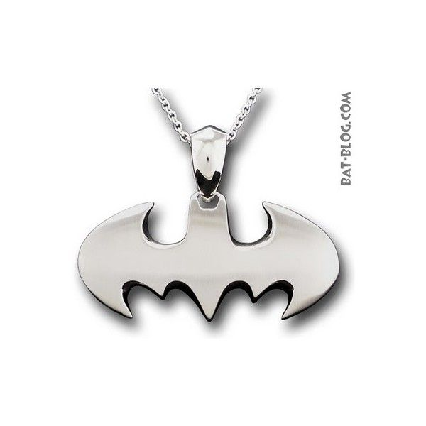 New Batman Jewelry Bat Symbol Rings And Necklaces Liked On