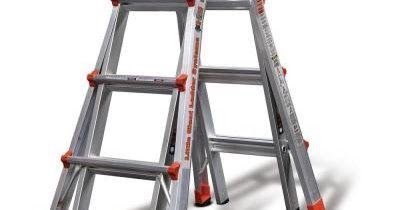 Home Depot Little Giant Ladder System Multi Position Ladder Only 179 99 Reg 242 11 Free Shipping Best Ladder Little Giants Aluminium Ladder