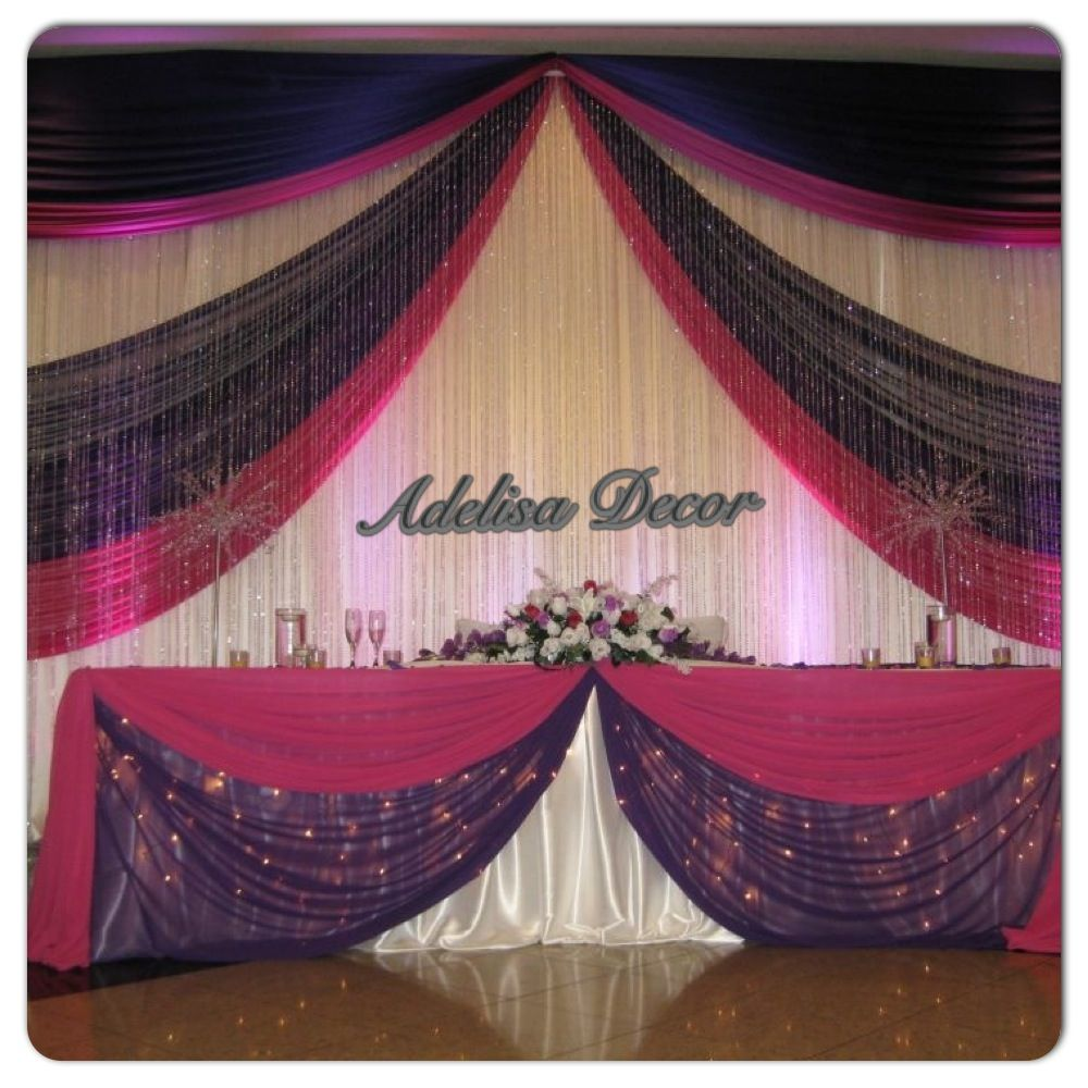 Best 25 wedding reception backdrop ideas on pinterest for Backdrops decoration