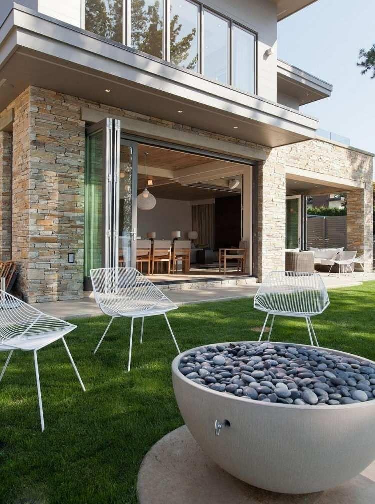 Pin Von Bärbel Purkert Auf Sitzplätze Für Garten | Pinterest | Foyers Design Ideen Feuerstelle Draussen