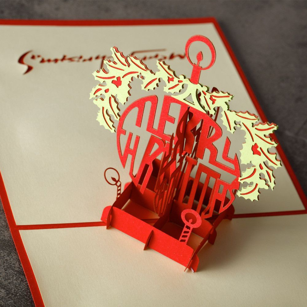 1 pc homestia cross red merry christmas card laser cut 3d paper 1 pc homestia cross red merry christmas card laser cut 3d paper folding greeting cards souvenir kristyandbryce Gallery