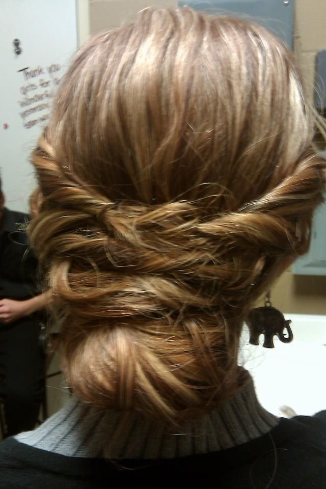 I Tried The Lauren Conrad Updo On Myself Hair And Beauty