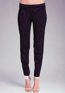 bebe Asymmetric Rise Pants