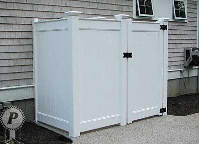 Vinyl Outdoor Shower Enclosure Kits | Shower Enclosures 68 F