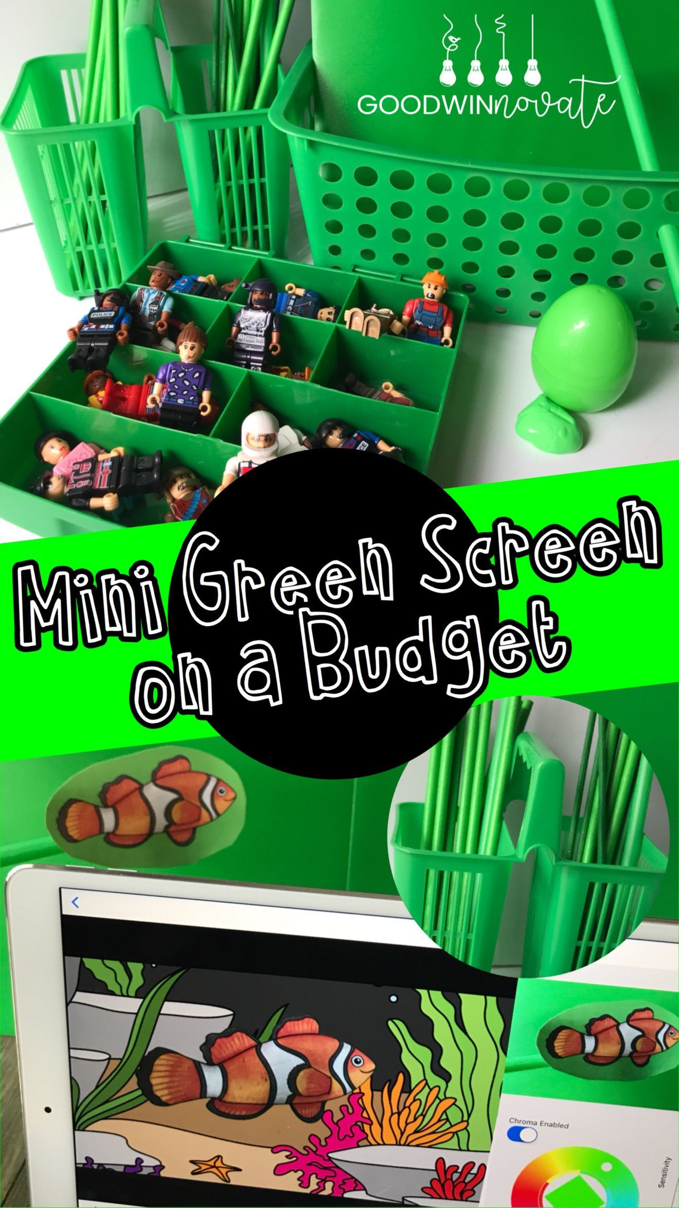 Mini Green Screen On A Budget With Images