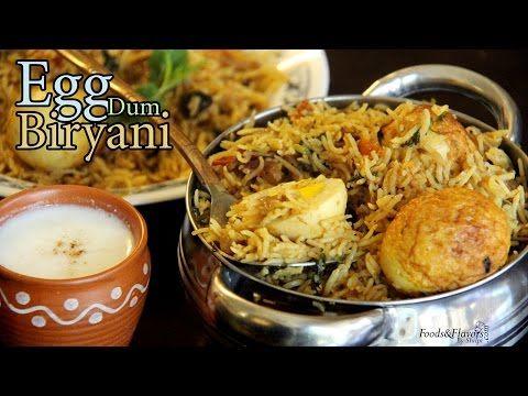 Egg Biryani Recipe   How to make Egg Dum Biryani at Home   Indian Food Recipes / Indian Recipes - YouTube