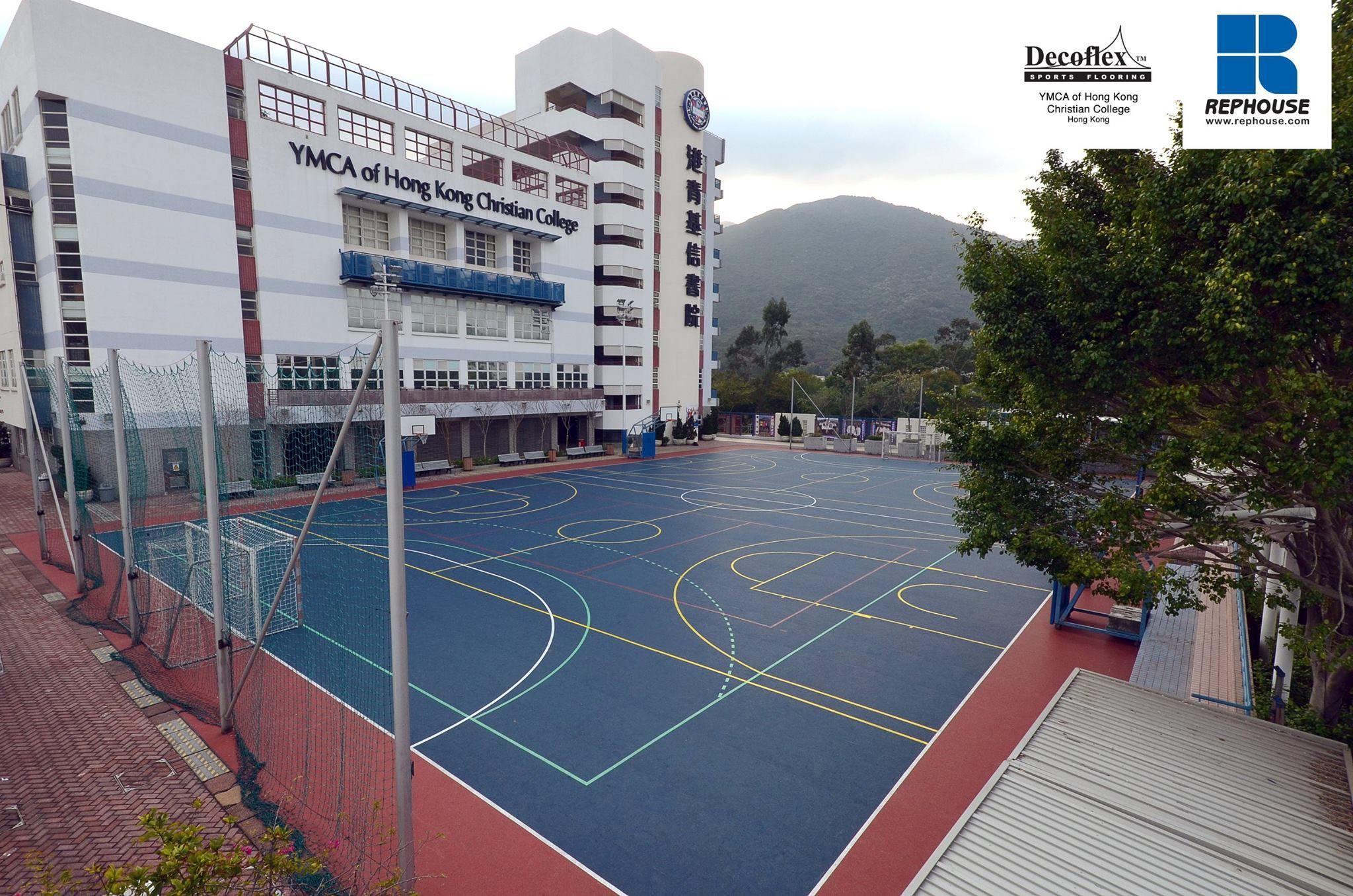 Decoflex D15 Outdoor Sports Flooring Ymca Of Hong Kong Christian College Hong Kong Ymca Asian Games Hong Kong