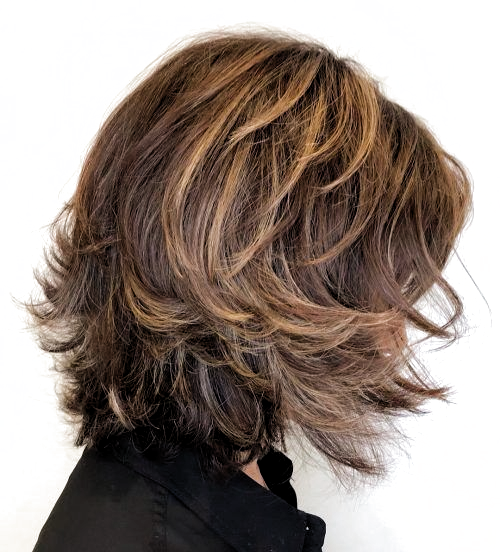 15 Youthful Medium Length Hairstyles For Women Over 50 In 2020 Medium Length Hair Styles Haircuts For Medium Length Hair Medium Length Hair With Layers
