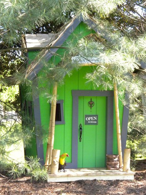 casitas de jardin para niños casitas Pinterest