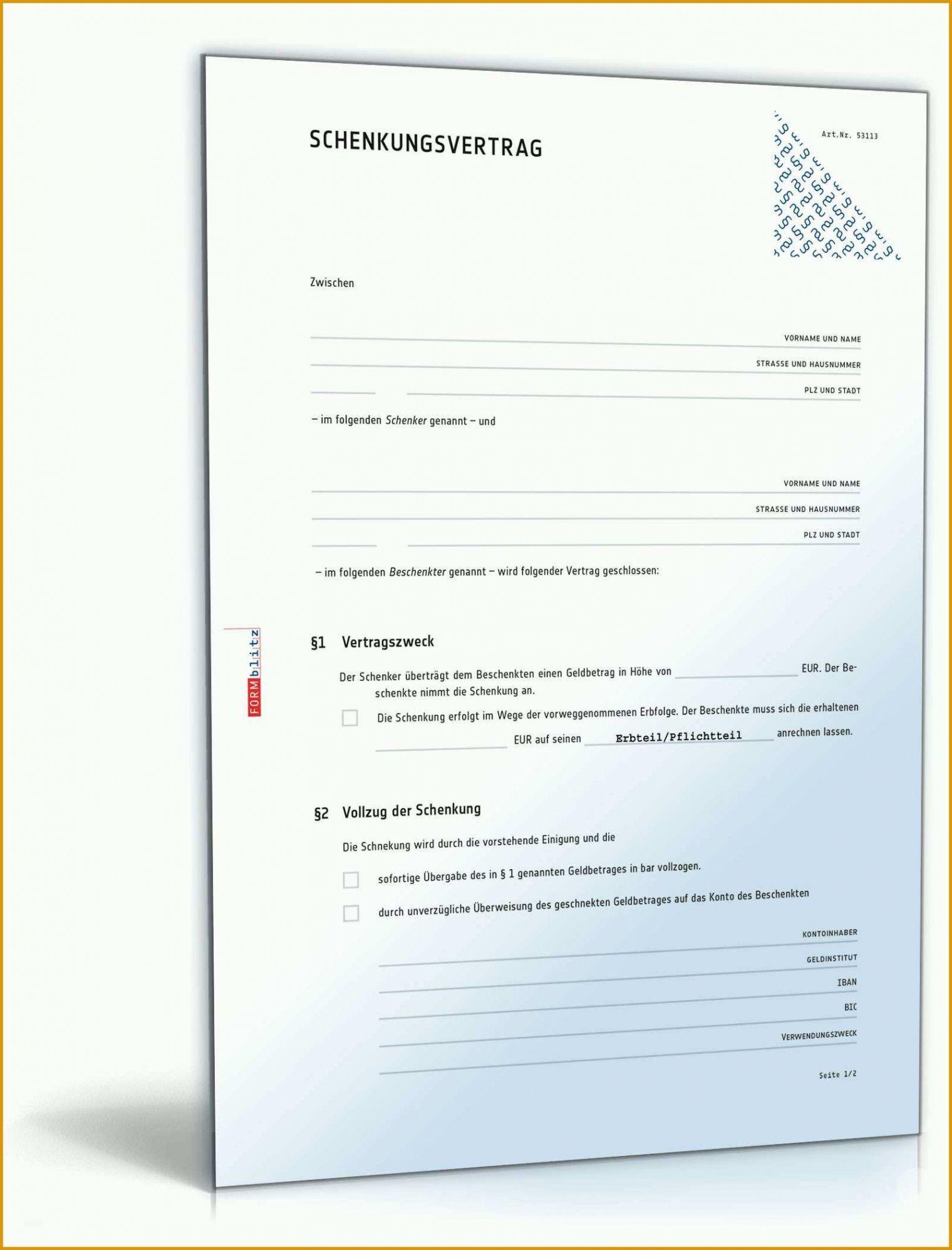 Reservierungsvereinbarung Immobilien Muster 2