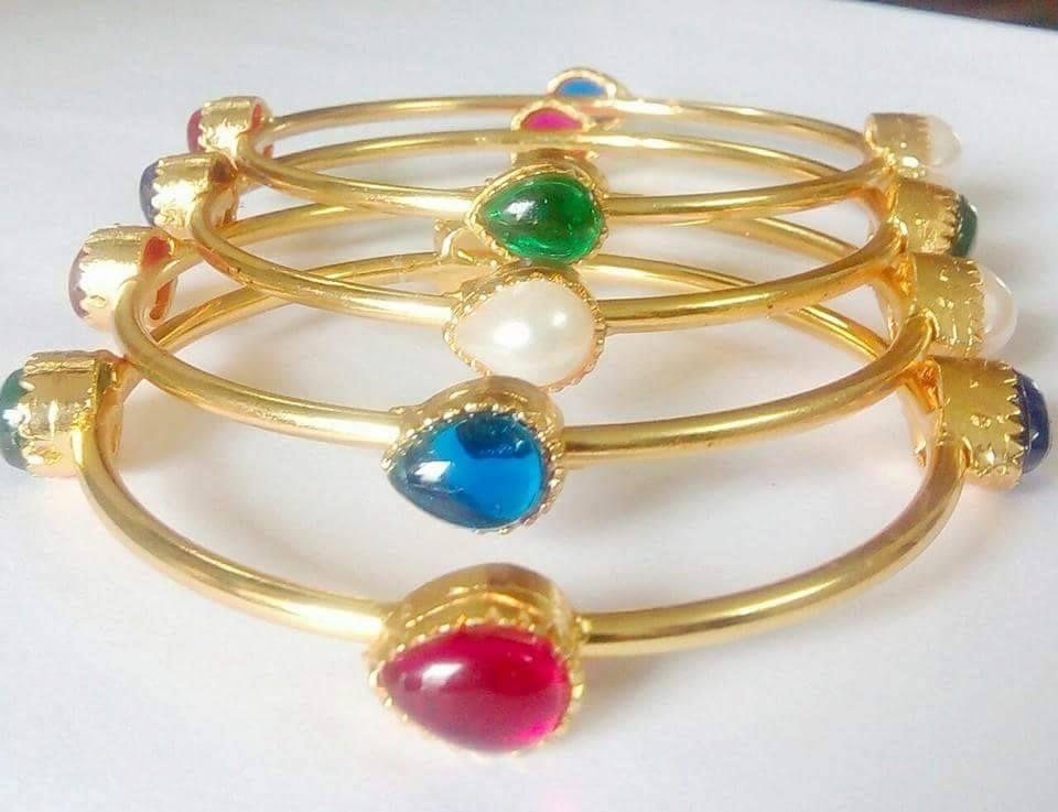 kids-bangles-multi-color | Bangles | Pinterest | Bangle and Gold