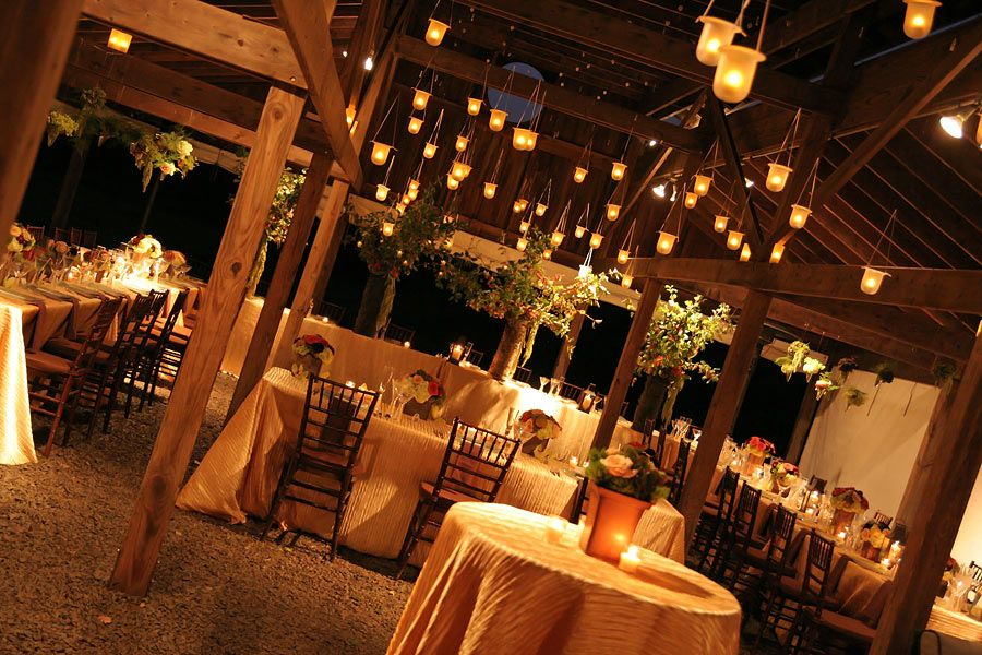Again Love The Hanging Candles But Even More So I Think The Table