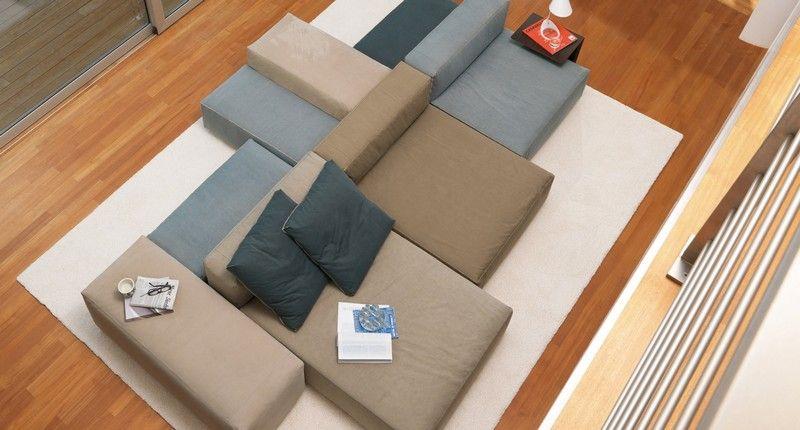Sofa in Grau \u2013 50 Wohnzimmer mit Designer Couch Wohnzimmer 2019