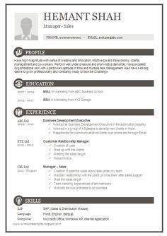 Professional Resume Format For Experienced Free Download Resume Format Free Downloadresume Examples Free Resume Templates .