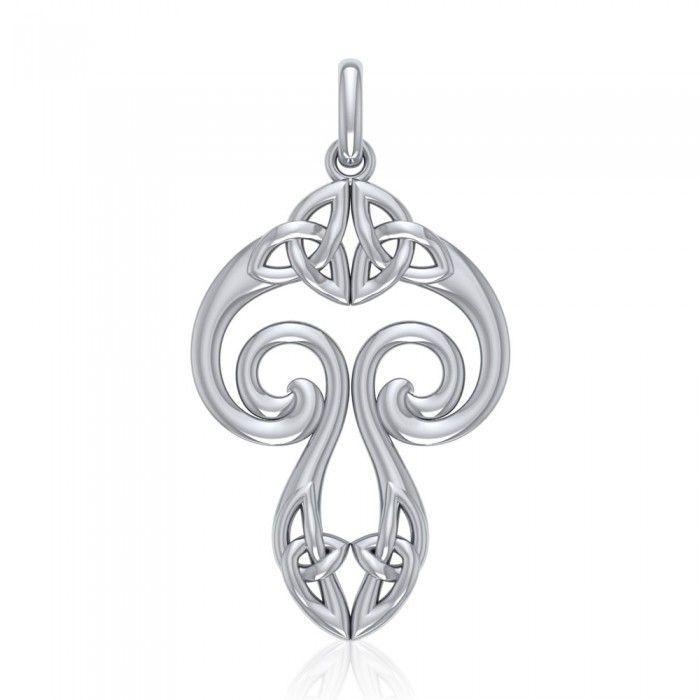 The symbol that predates Christianity Silver Celtic