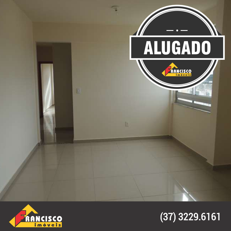 Apartamento residencial no Centro de Divinópolis, alugado pela Francisco Imóveis!