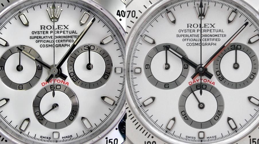 Nice review about how to spot fake rolex daytona watch and