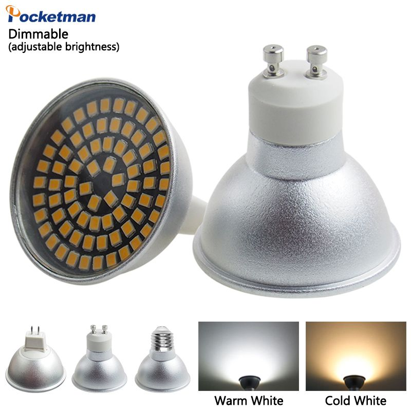 5W LED lampada lamp Light GU10 MR16 E27 220V Led Spotlight