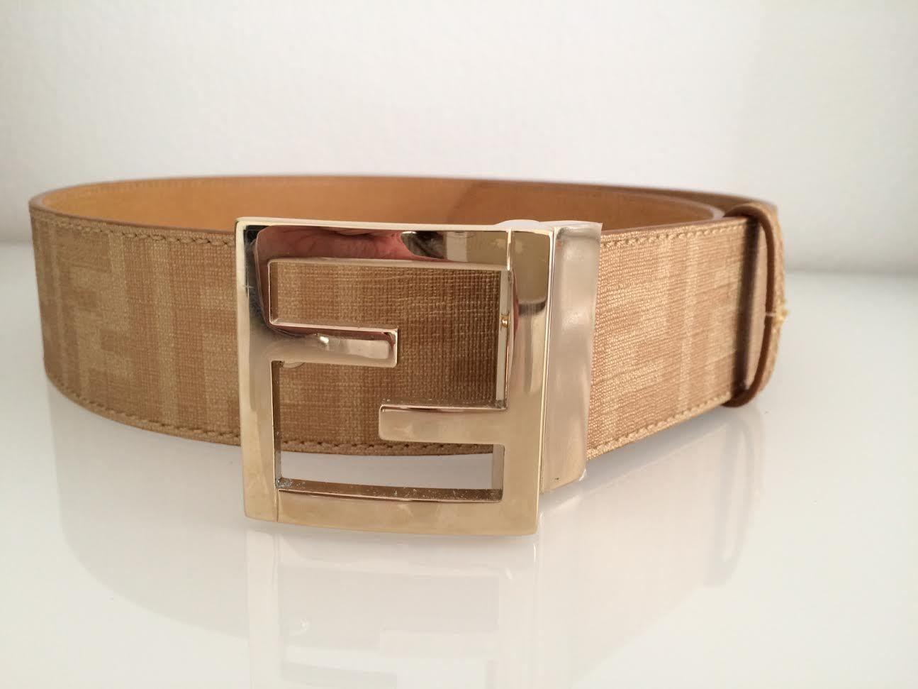 nuovo aspetto calzature stile squisito real fendi belt ebay 5f936 3d4eb