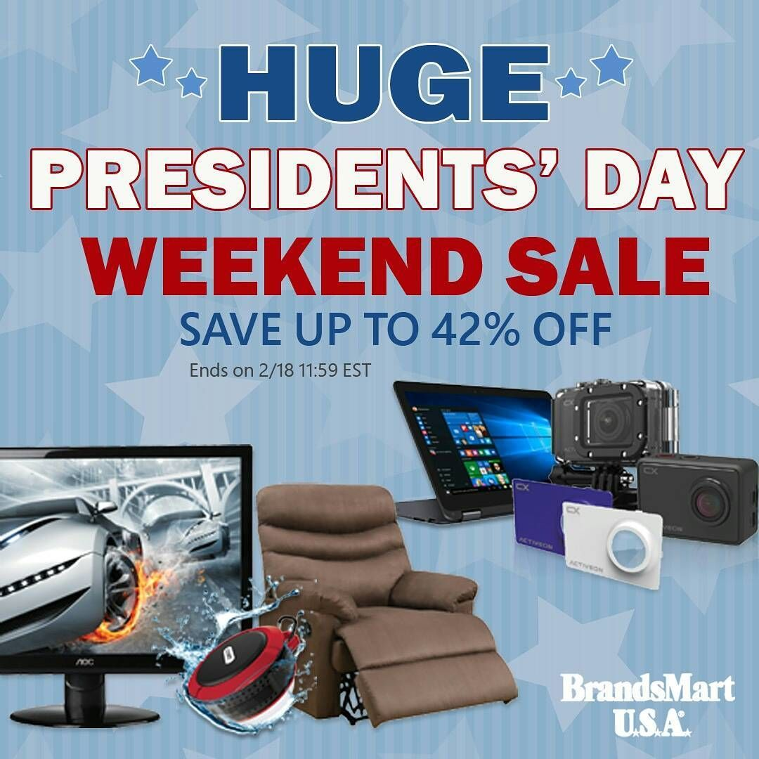 Huge Presidents\' Day Weekend Sale ••• Save up to 42% off on ...