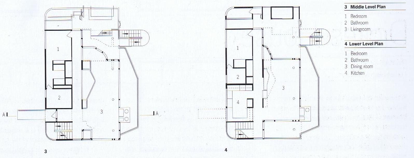 richard meier douglas house plan google search construction