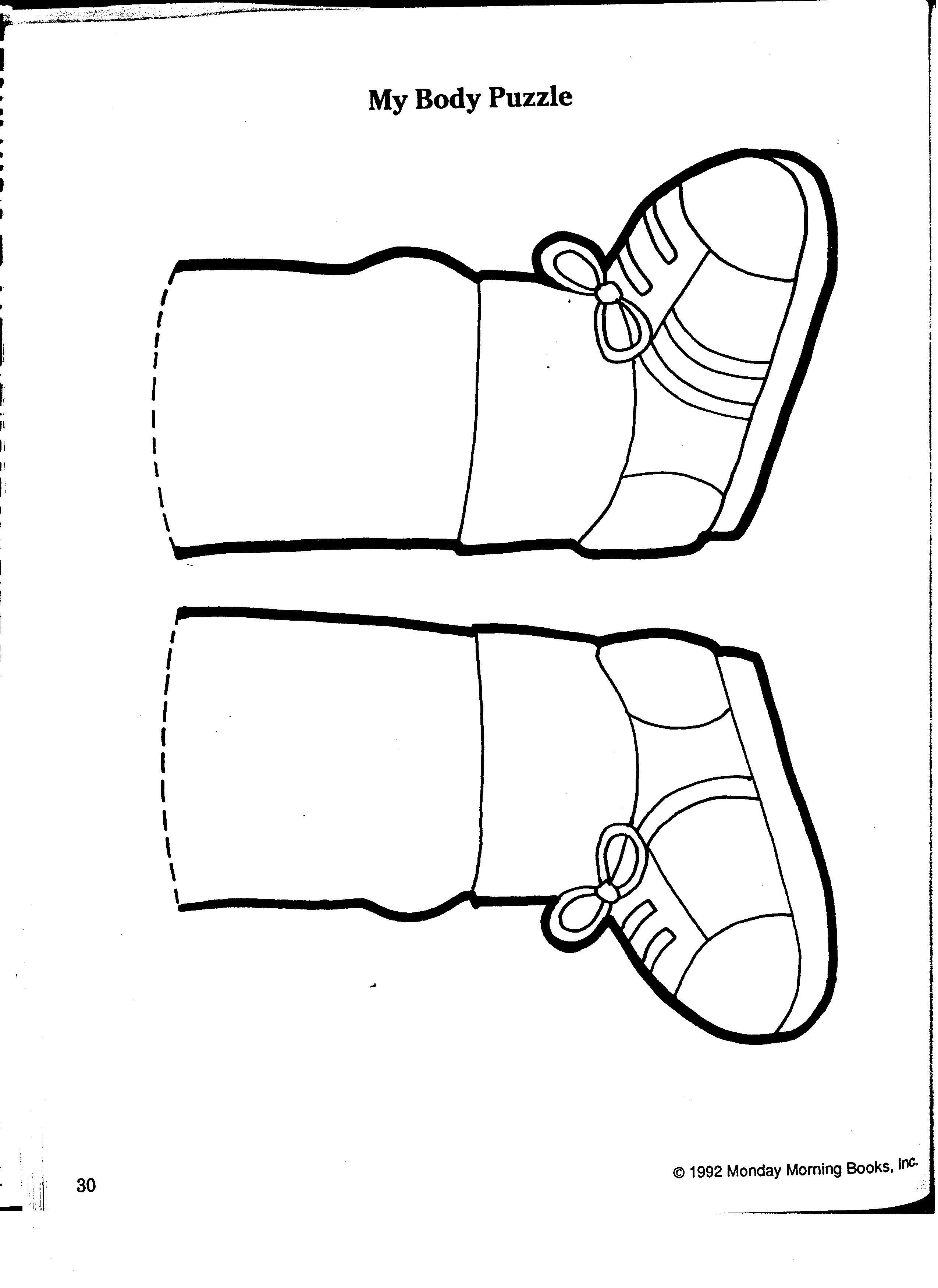 Body Puzzle Legs