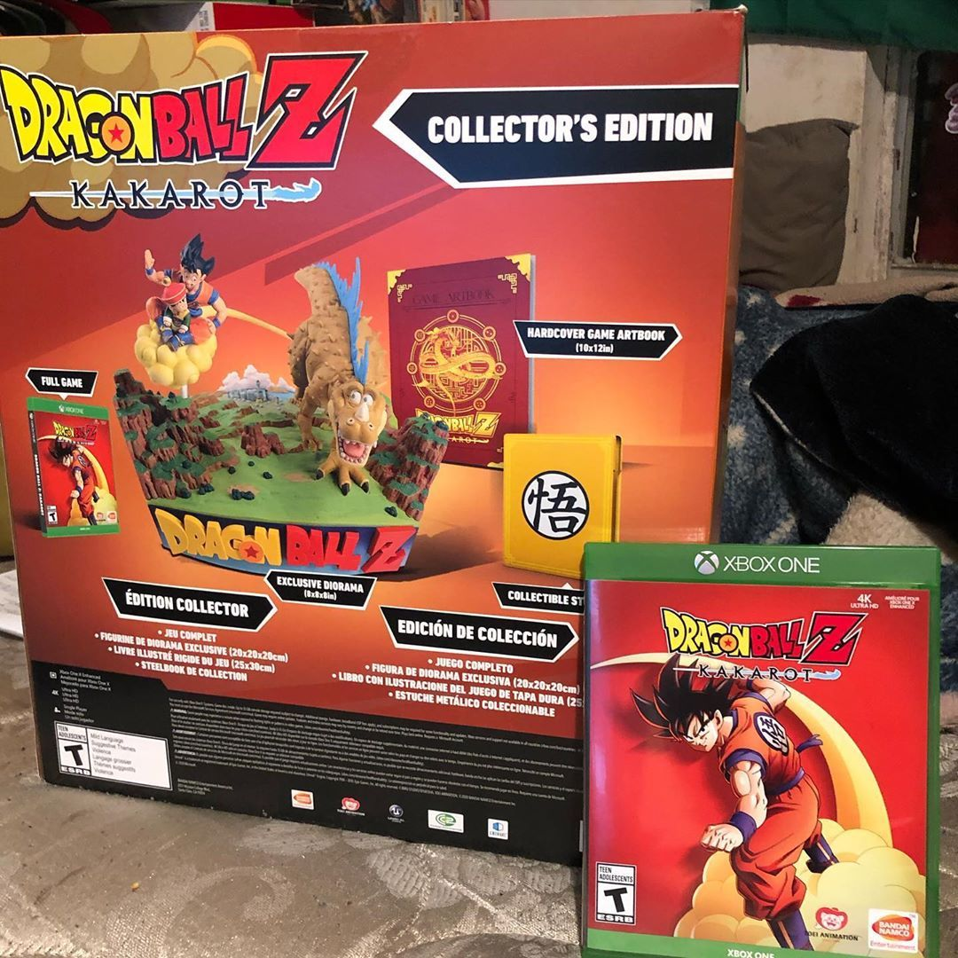 Got My Collectors Edition For Dragon Ball Z Kakarot Today Cant