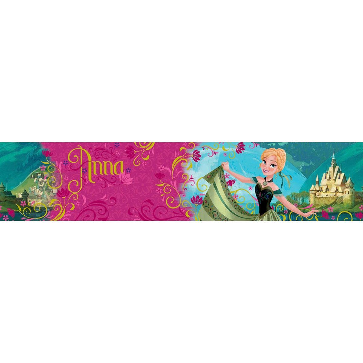 Disney Frozen Anna Wallpaper Border 5m Girls Wallpaper And