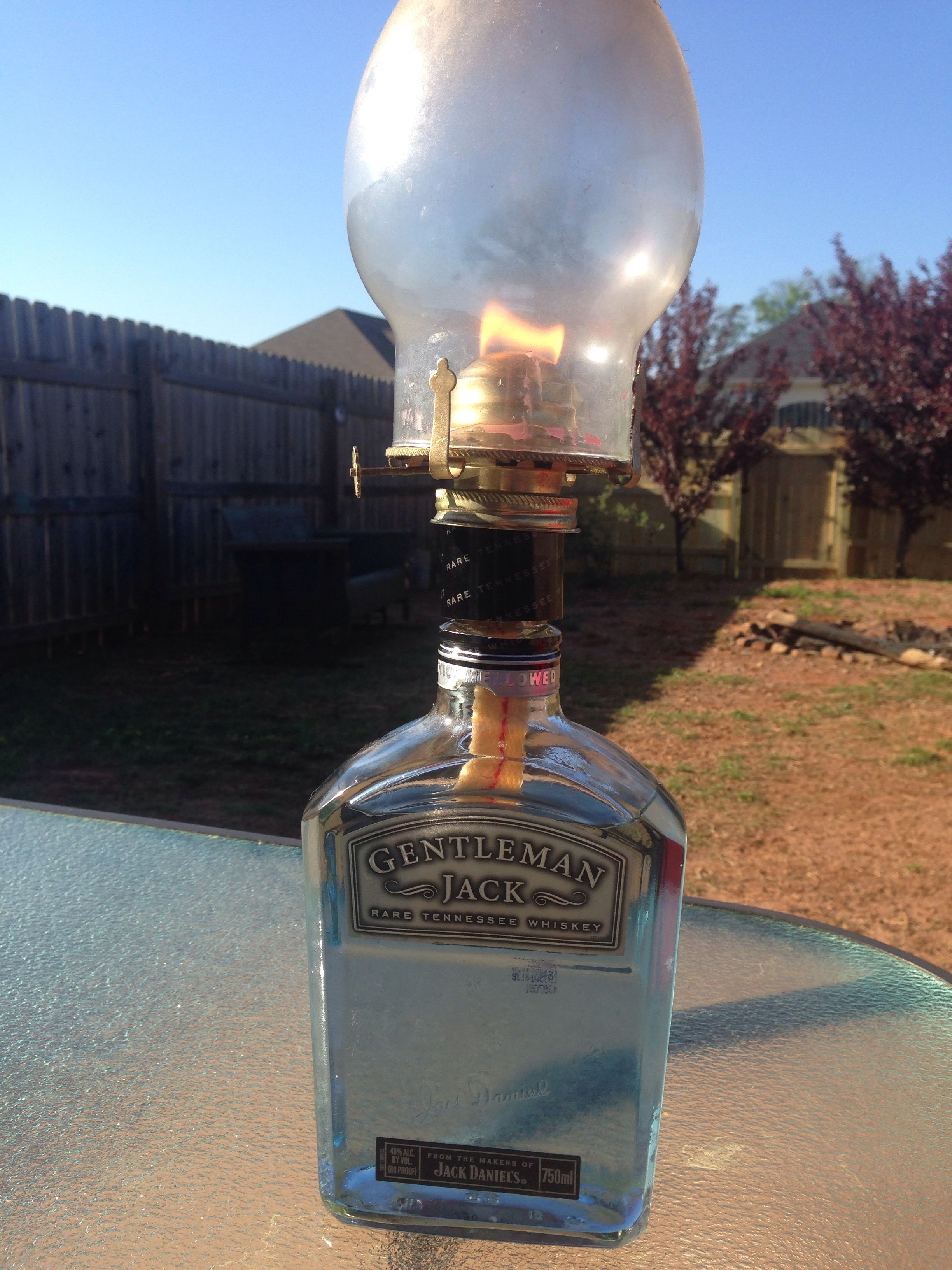Jack Daniels lantern