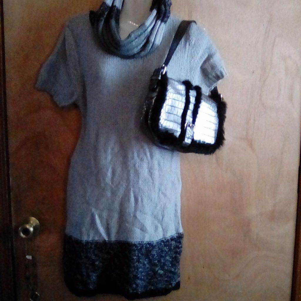4d851b0566 Cato Sweater Dress Cowl Neck