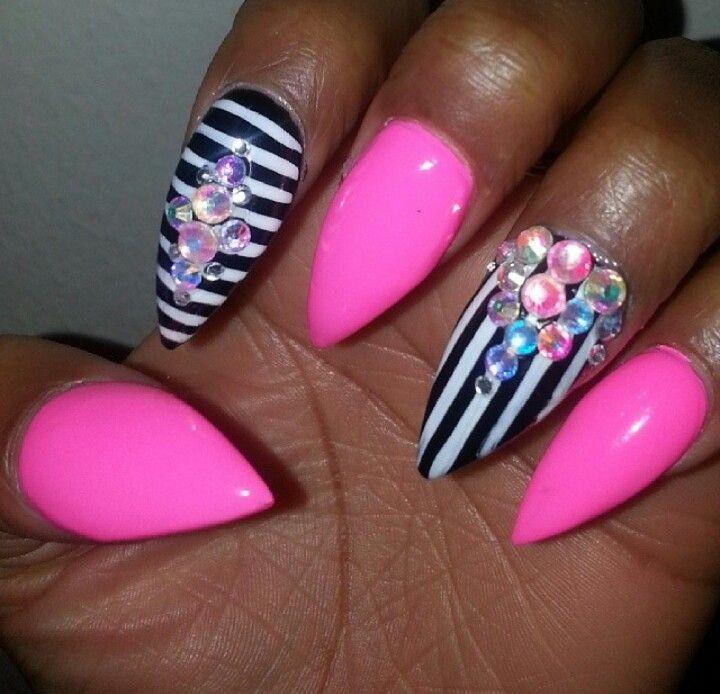 Stiletto nails...my next design