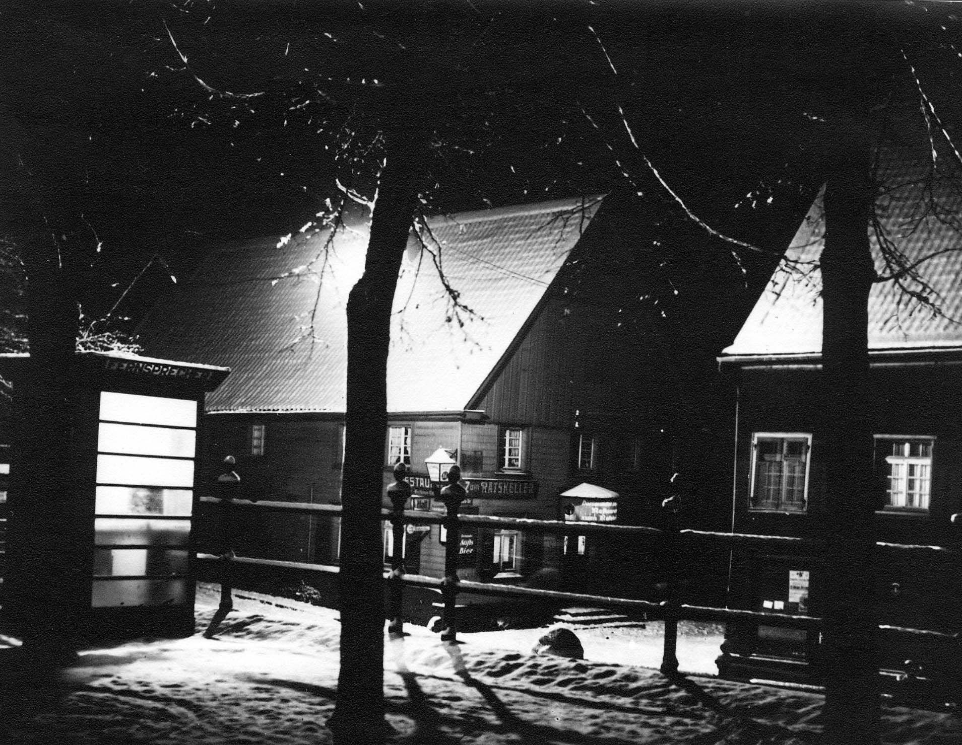 Ratskeller, Herdecke Westfalen, 30er Jahre Historische
