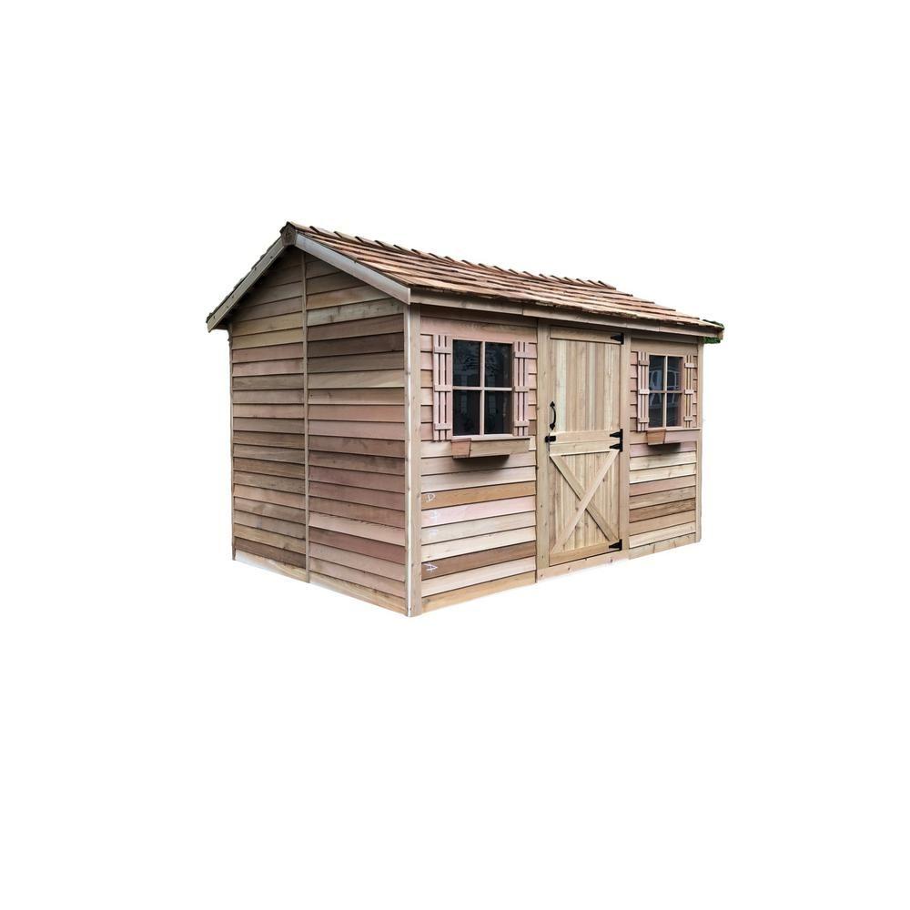 Best Cedarshed Cabana 13 Ft X 8 Ft 9 In Western Red Cedar 400 x 300