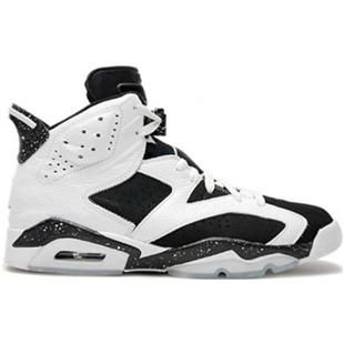 384664-101 Air Jordan 6 (VI) Retro Oreo White Black A06010