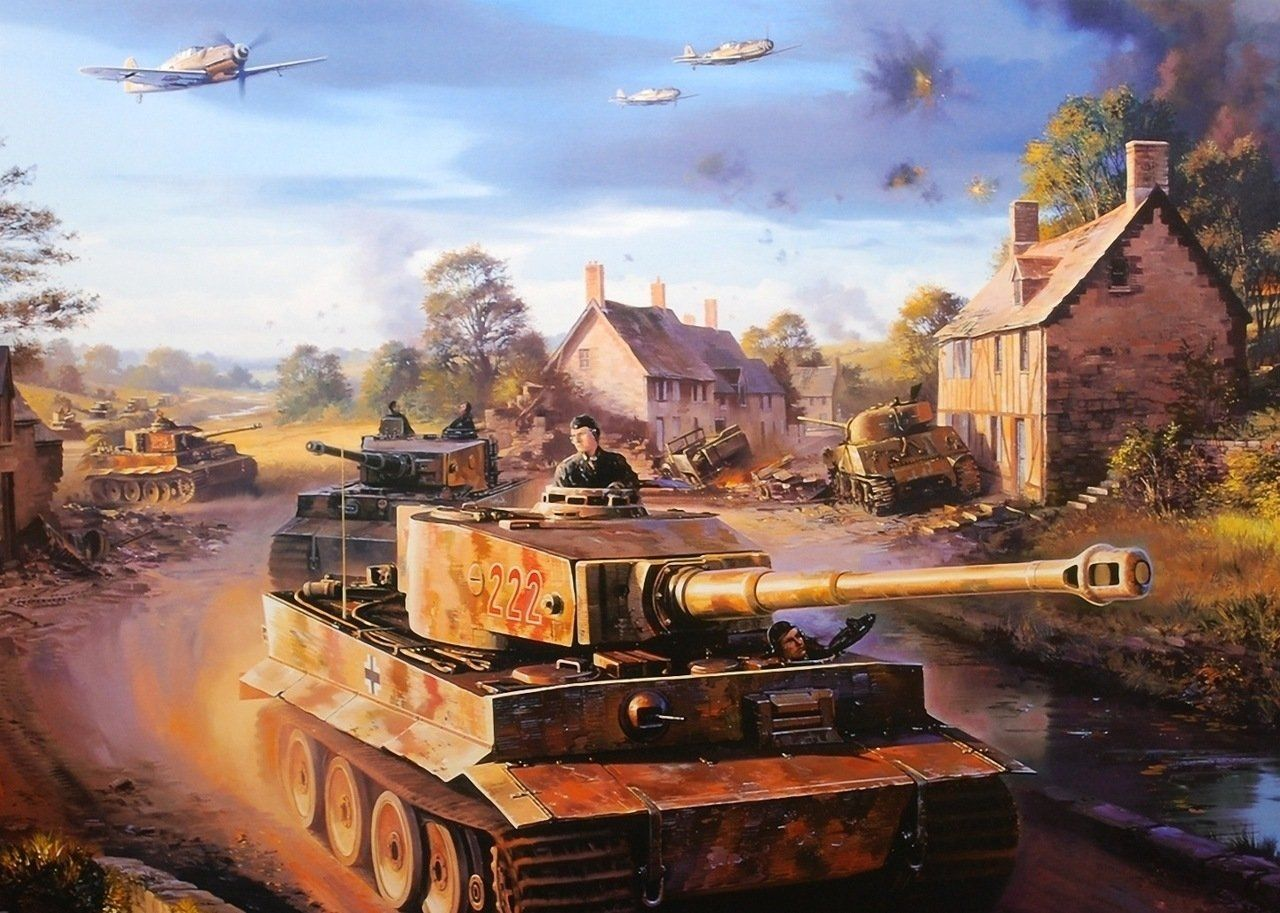 Tiger Tank Hd Wallpapers Backgrounds Wallpaper Tank Wallpaper Tiger Tank World War Two